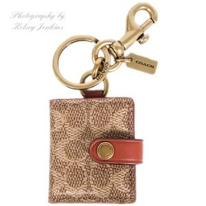 COACH Picture Frame Bag Charm Keychain